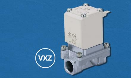 Válvula solenoide para fluidos diversos com diferencial de pressão zero – série VXZ