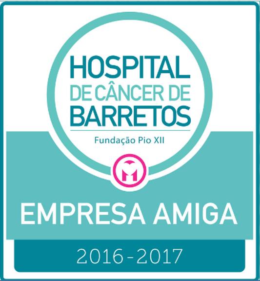 Selo Hospital de Barretos - Empresa Amiga