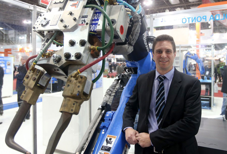 Gustavo Barini, gerente de Engenharia da Motoman
