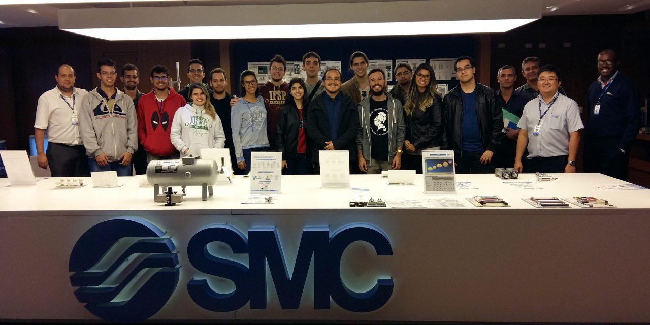 Alunos do IFSP visitam a SMC