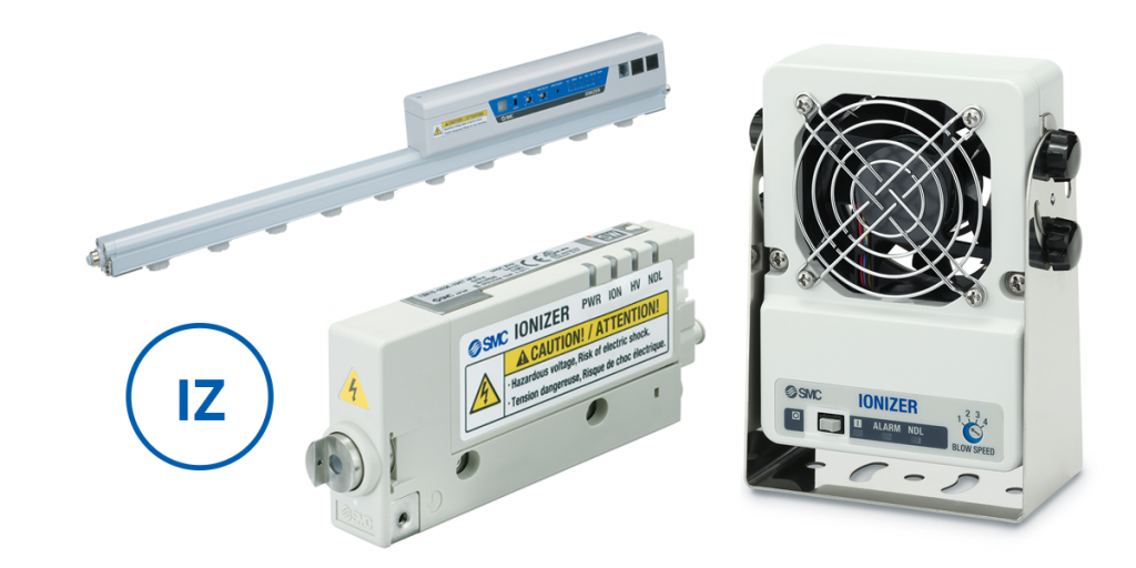 Ionizadores Série IZ, SMC