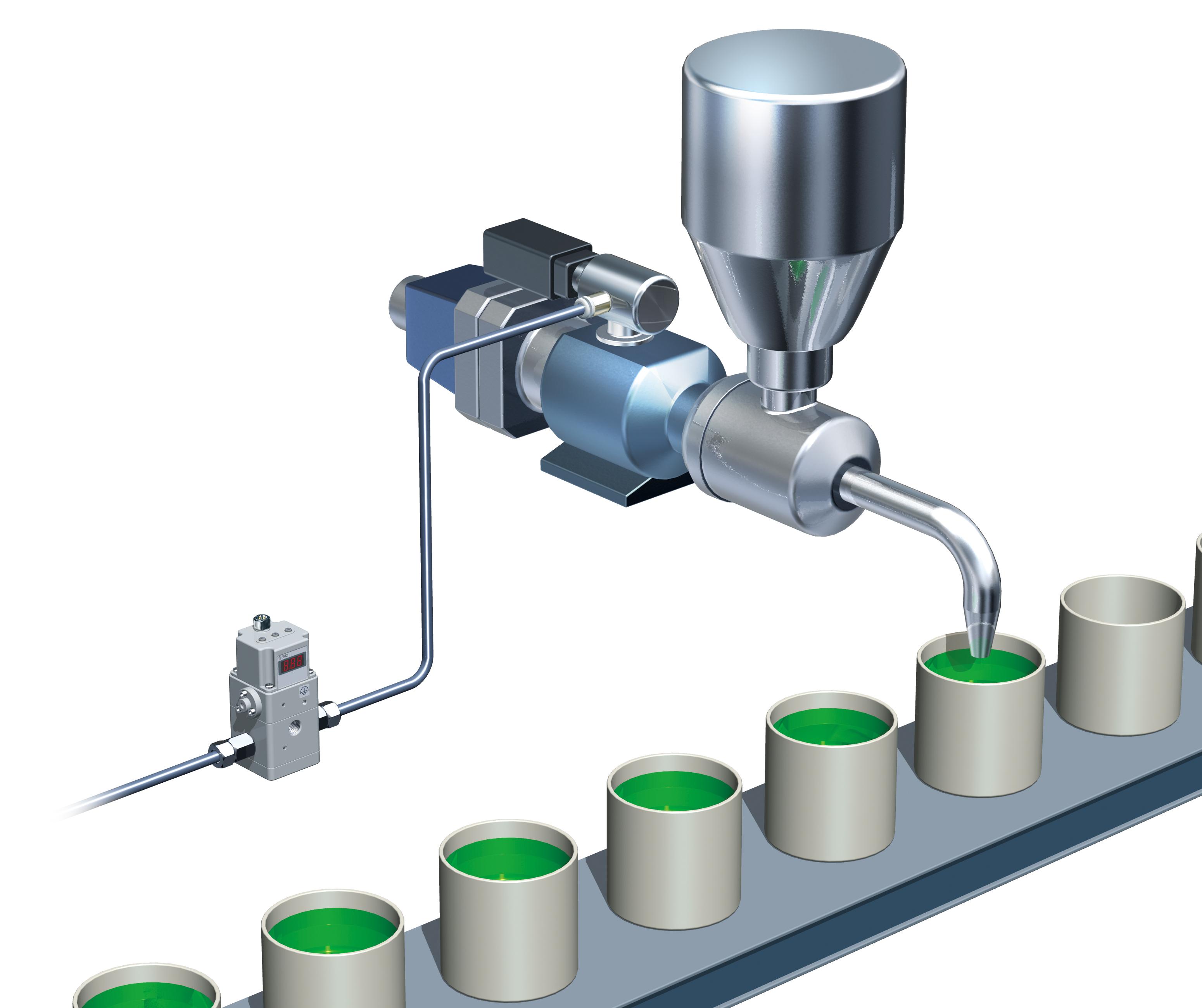 aplicação do regulador eletropneumático de alta pressão ITVH