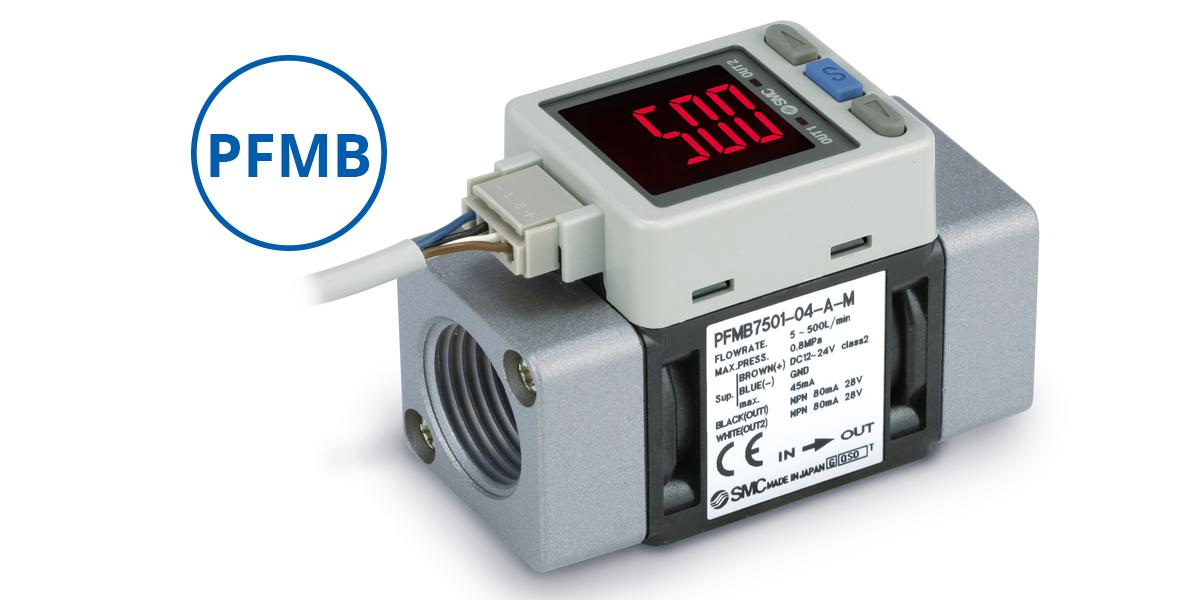 Transdutor de vazão PFMB mede fluxos industriais